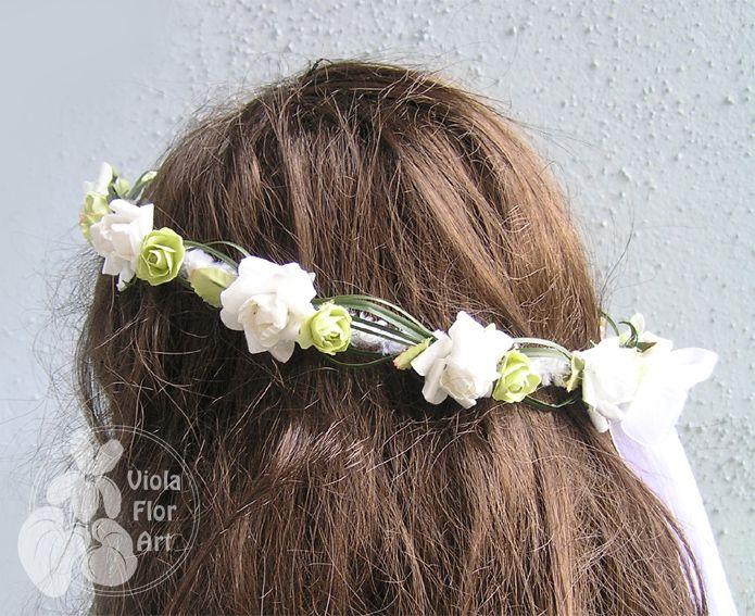 Wianuszki z kwiatów sztucznych | Viola Flor Art