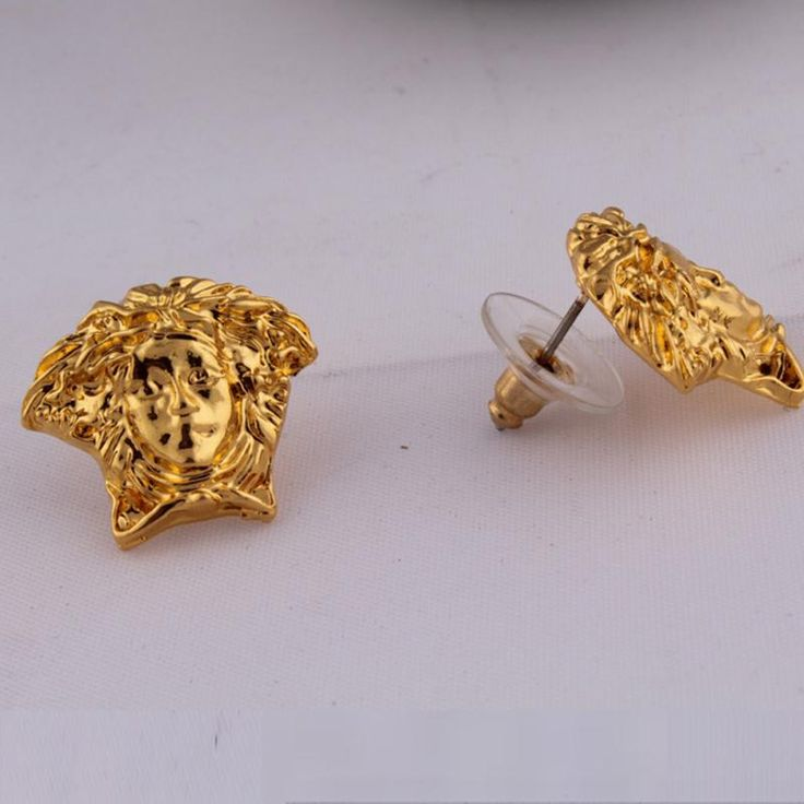 New Fashion Women/Girl The new European and American hip-hop HIPHOP Medusa earrings earrings influx of people