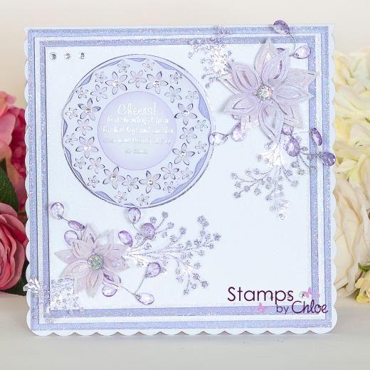 Dies by Chloe - CHCC-022 Flower Circle Die - £14.99 - Dies By Chloe Chcc022 Flower Circle Die - Chloes Creative Cards