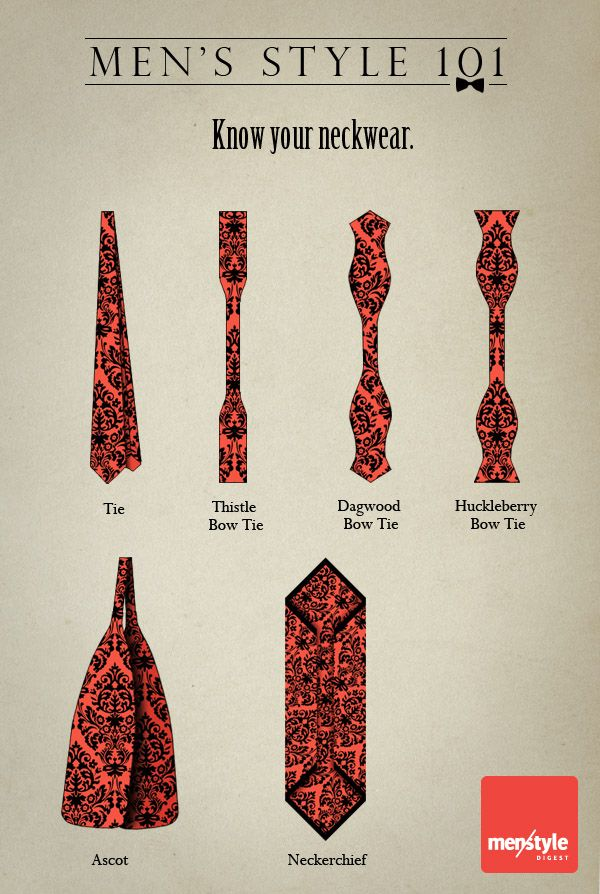 """Know your neckwear.    didn't know bowties had so many names.   i would have called the Huckleberry more of a Thistle shape.  ^ ^  obviously i am 1) not a man..of style or otherwise. 2) must be one of those """"wolves"""" who didn't raise her son right.   (^v^) heheheh"""