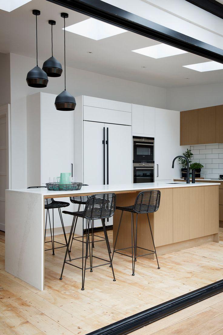 Reno Rumble Grand Final Kitchens. Carly & Leighton: Caesarstone Calacatta Nuvo kitchen. Ayden & Jess: Caesarstone Alpine Mist kitchen. By Freedom Kitchens