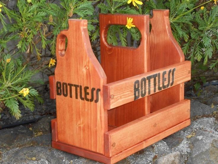 Custom Growler Crates made to order w/Custom Growlers | 64oz Growler Crate www.bottless.net/64ozgrowlercrate