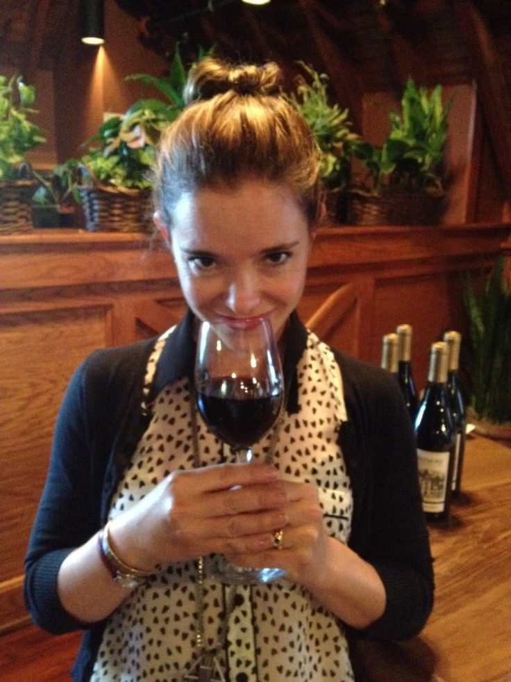 On Kiehl's LifeRide: Marguerite Moreau with Cardinal's Crest wine
