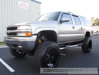 Lifted 2000 Chevy Suburban Truck For Sale
