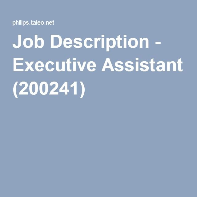 The 25+ best Executive assistant job description ideas on - executive editor job description