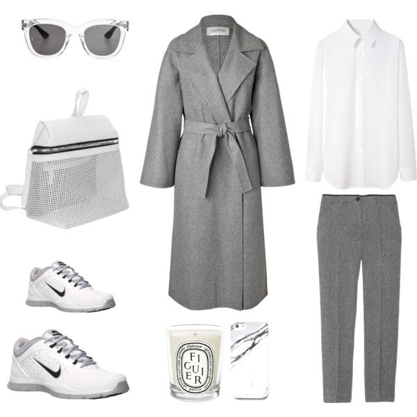"""MINIMAL + CLASSIC: """"Grey and White"""" by fashionlandscape"""