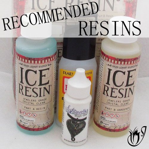 Recommended polymer clay resins