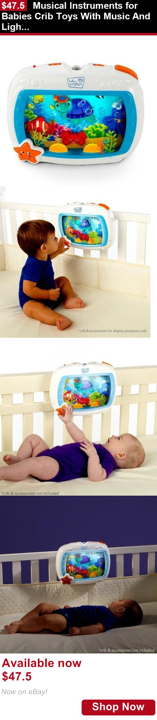 Crib Toys: Musical Instruments For Babies Crib Toys With Music And Lights Sounds Toddlers BUY IT NOW ONLY: $47.5