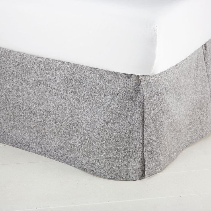 Perfect Grey Bed Skirt - Queen