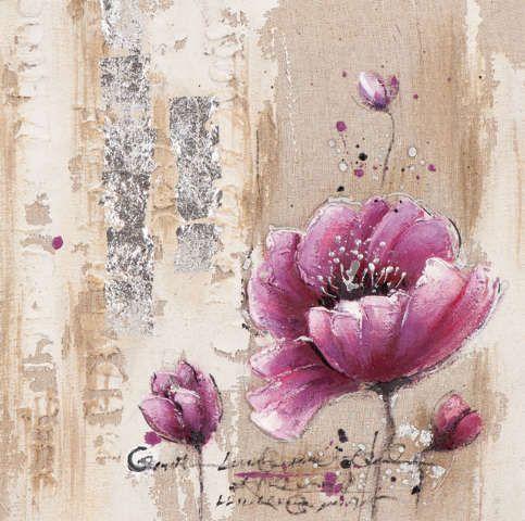 New+Life+Collection+-+Die+Sprache+der+Blumen+II+-+handgemaltes+Leinwandbild+günstig+kaufen+-+auch+auf+Rechnung!