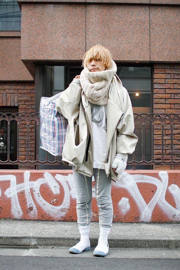 ストリートスナップ | HACHI | BALMUNG デザイナー | 原宿 (東京)