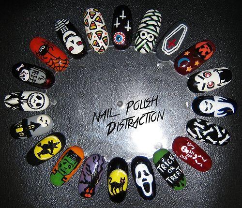 Re-upload: Halloween Nail Wheel. I got the nail wheel from Born...