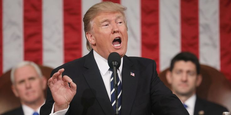 United States President Donald Trump on Tuesday delivered his first address to Congress, and event fact checkers were watching like hawks.