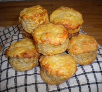 Classic cheese scones - left out cayenne added plenty chives