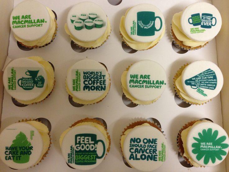 McMillan coffee morning cupcakes