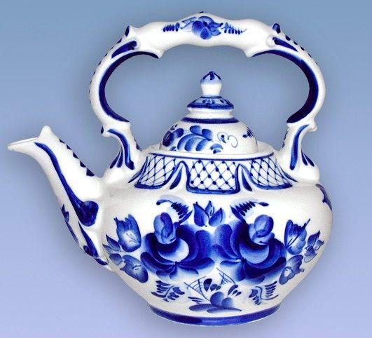 Russian Folk Art: Gzhel.