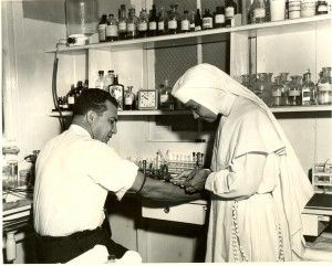 the Sisters of St. Dominic of Blauvelt were involved with this undertaking. A small group of previously cloistered Dominicans from Union City,New Jersey had responded to a call from the bishop of Kingston, Jamaica in the West Indies to staff the Catholic hospital there.