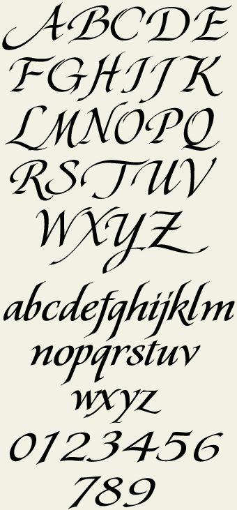 Letterhead Fonts / LHF Pierre / Calligraphy Fonts