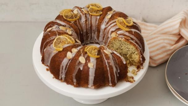 Lemon drizzle cakes are an absolute favourite in my house – it's a wonder I ever make anything else! I chose a ring shape because it looks pretty and you can add more drizzle.  For this recipe you will need a 25cm/10in non-stick fluted ring cake tin.