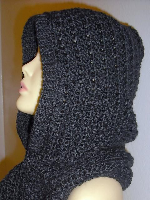 Hooded Scarf by Yolanda M | Crocheting Pattern - Looking for your next project? You're going to love Hooded Scarf by designer Yolanda M. - via @Craftsy