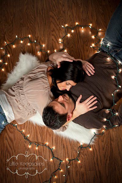 This is so cute for a Christmas but the guys neck looks awk. Change pose a little