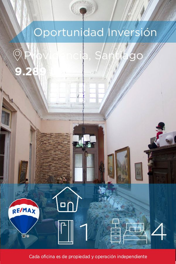 [#Casa en #Venta] - Oportunidad Inversión 🛏: 4 🚿: 1 👉🏼 http://www.remax.cl/1028050018-11 #propiedades #inmuebles #bienesraices #bienesraiceschile #inmobiliaria #agenteinmobiliario #exclusividad #asesores #construcción #vivienda #realestate #invertir #REMAX #Broker #inversionistas #arquitectos #venta #arriendo #casa #departamento #oficina #chile