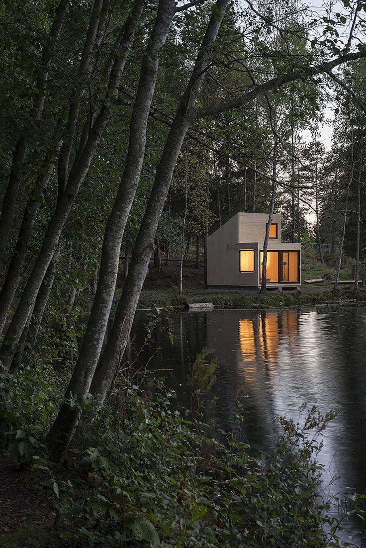 A Simple Norwegian Cabin. Mini HousesTree ...