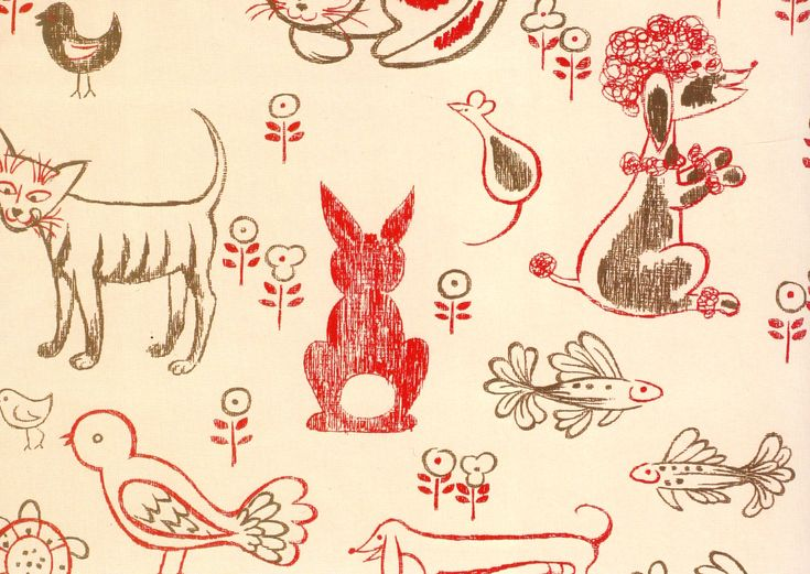 florence broadhurst, cats and mice
