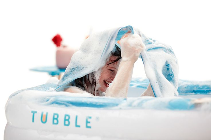 Kids love playing in inflatable #Tubblebath too!