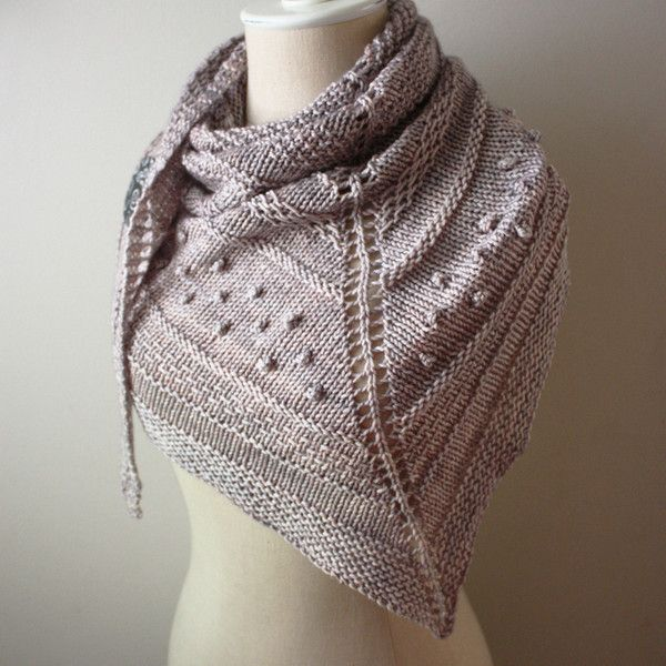 Texelle chunky shawl knitting pattern by phydeaux designs