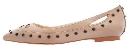 Schicke Ballerinas der Marke Janiko. Absatzart: Flach Absatzhöhe (cm): 1.0000 Gewicht (g): 370 Look/Optik: feminin Passform: fällt klein aus Schuhe Verschluss: Offen Schuhspitze: spitz Schuhweite: mittel