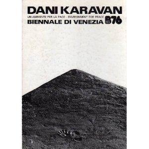 """Nel 1976 viene invitato a partecipare alla Biennale di Venezia dove presenta """"Un ambiente per la pace"""", una grande scultura ambientale in cemento bianco che, con i suoi diversi volumi, occupa interamente il padiglione israeliano http://musapietrasanta.it/content.php?menu=artisti"""