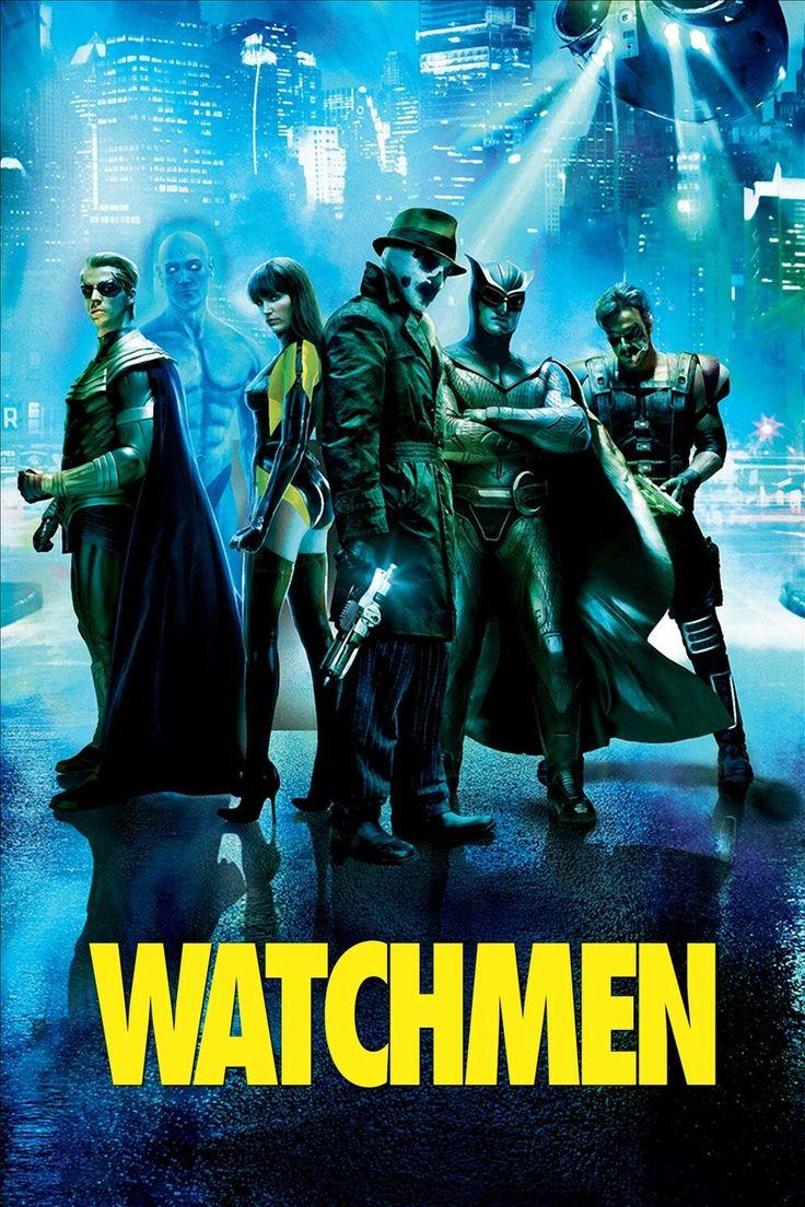 Watchmen movie poster Fantastic Movie posters SciFi movie