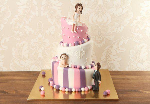 """Свадебный торт """"Веселая семейка""""  #Свадьба - день создания новой и крепкой семьи. А чтобы торжество запомнился гостям, нужно его украсить оригинальным свадебным тортом! Профессионалы Абелло с радостью изготовят для вас поистине потрясающий #десерт, противоречащий всем законам физики. Главным украшением торта станут интересные фигурки весёлой семейки!  Мы с радостью изготовим, а если вы пожелаете то и доставим, #тортВесёлаяСемейка весом от 3-х кг всего за 2150₽/кг.  Изготовление…"""