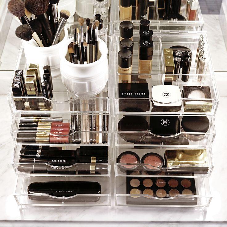Best 25 Acrylic Makeup Organizers Ideas On Pinterest Acrylic Makeup Storage Makeup Storage