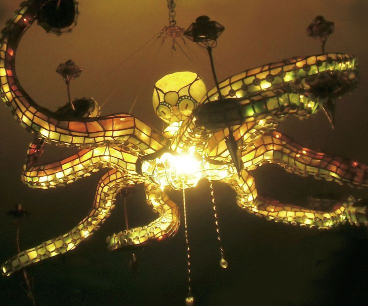 Octopus Chandelier Sea Theme Under The Sea And Chandeliers