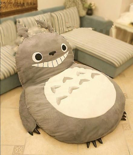 Totoro floor pillow