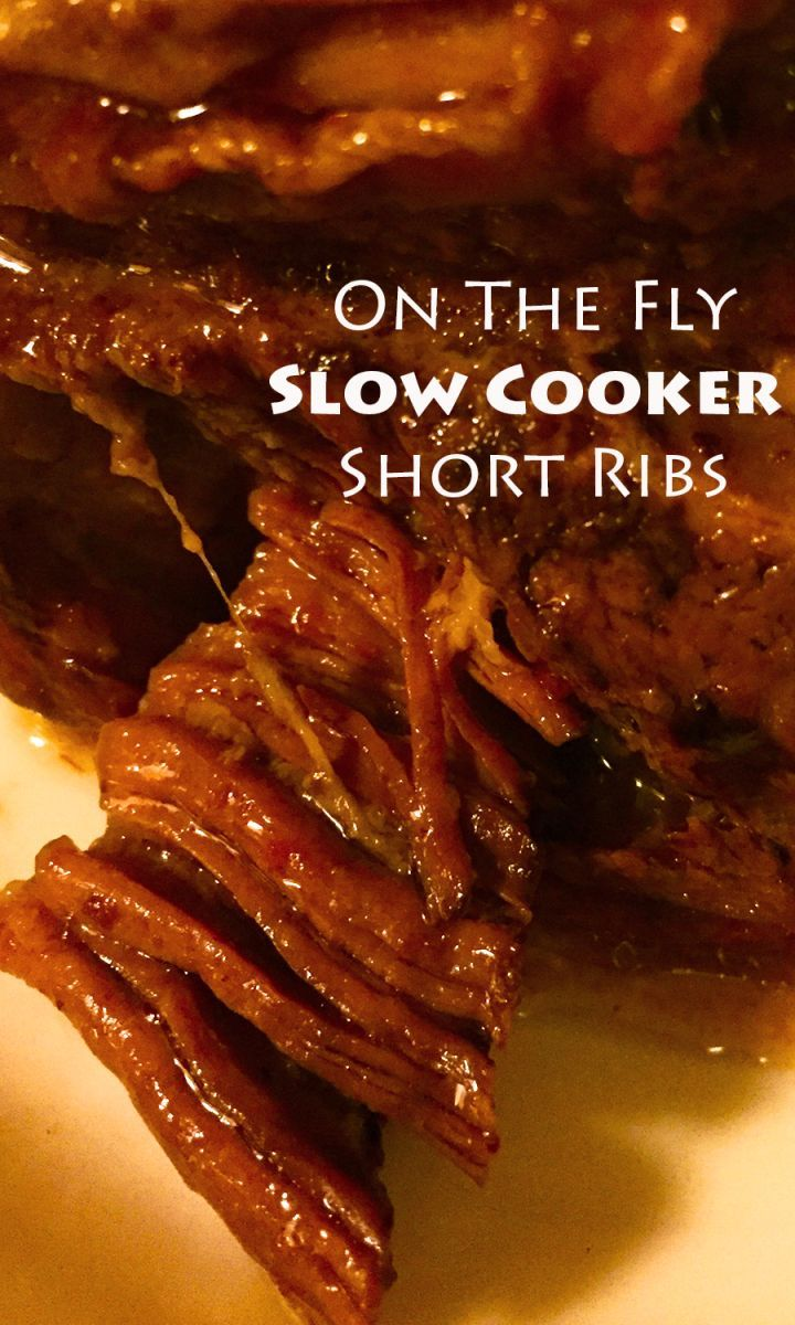 Melt in your mouth Short Ribs with little to no prep in the morning!  Perfect weekday dinner for you and the family! #countryishliving countryishliving.com