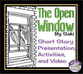 plot of the open window by saki