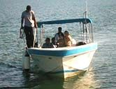 Requena's boat service to/from Punta Gorda Belize to Puerto Barrios Guatemala daily