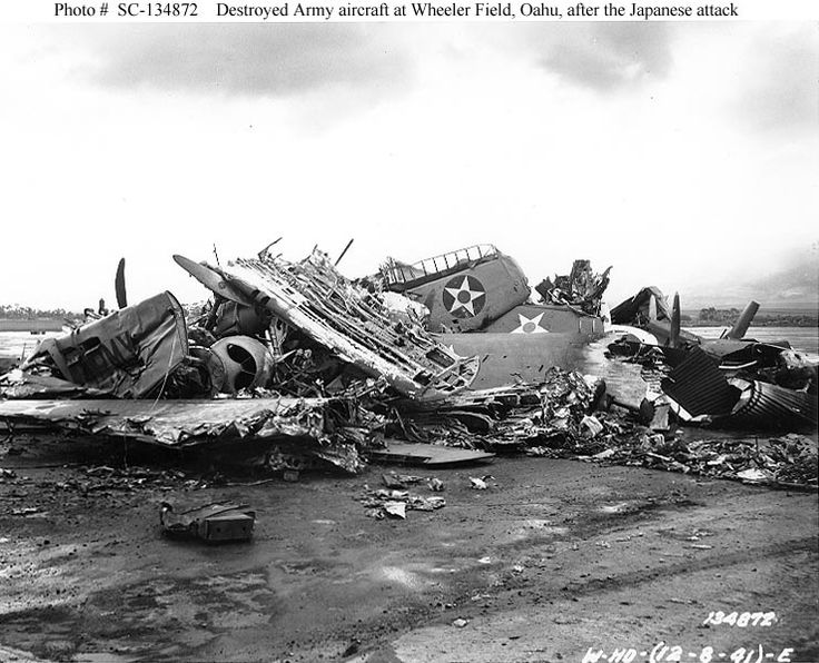 Image result for pearl harbor aircraft images december 7