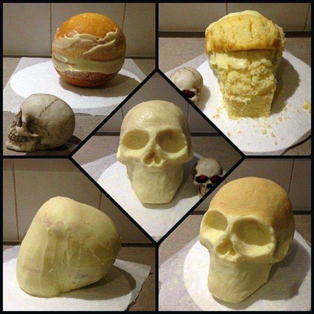 Skull Cake - How to                                                       …