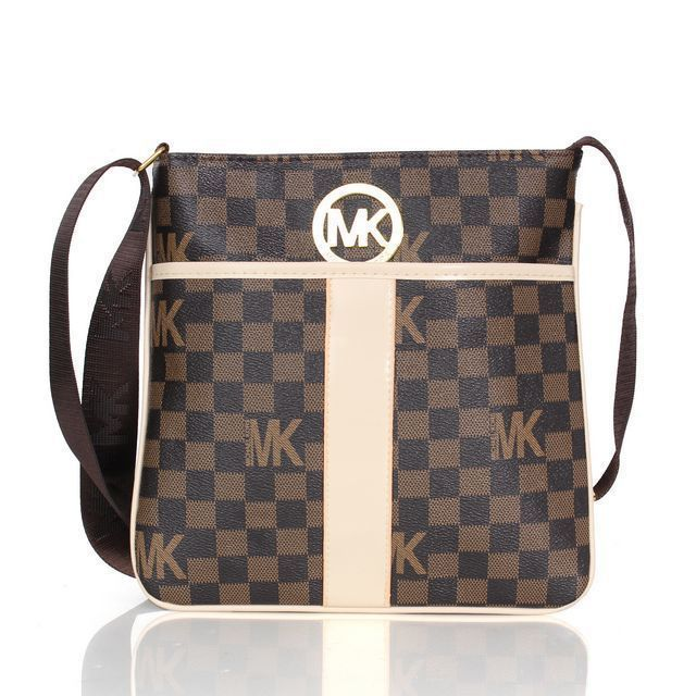 Michael Kors Outlet !Michael Kors Logo Signature Large Coffee Crossbody  Bags $64.99 - brown or