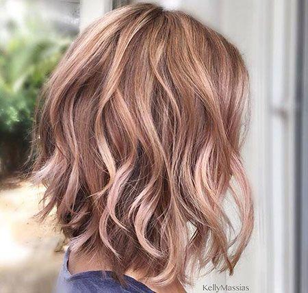 I want rose gold hair!!