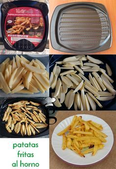 A veces queremos comer patatas fritas pero o no caen bien los fritos, o no queremos comer algo con tanto aceite o ensuciar mucho la cocina. Con estaba bandeja que compré, el problema queda resuelto…