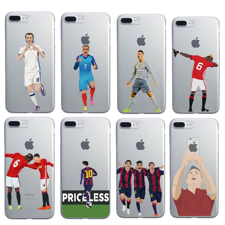 phone cases Benzema Cristiano Ronaldo Soccer Sport Stars Clear soft silicone case cover for Apple iphone7 7plus 5S SE 6S 6plus #clothing,#shoes,#jewelry,#women,#men,#hats,#watches,#belts,#fashion,#style