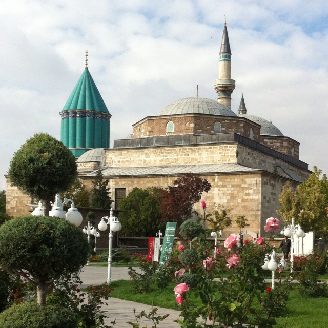 RUMI Mosque Konya Turkey