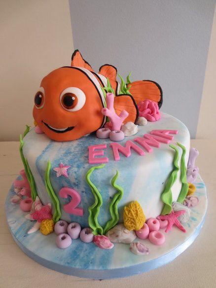 Nemo - by SweetMamaMilano @ CakesDecor.com - cake decorating website