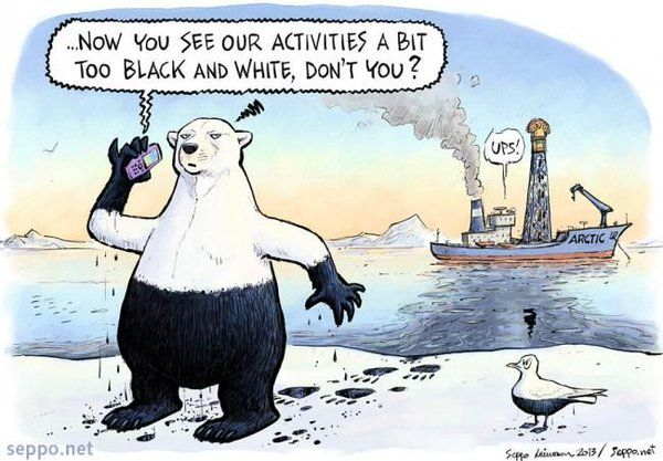 """Allan Margolin su Twitter: """"NOT WORTH IT Oil Co's abandon Arctic #drilling rights https://t.co/fYxsViOY45 via @thehill @citizensrock…"""