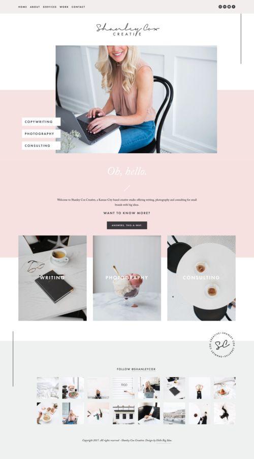Best 25+ Squarespace Websites images on Pinterest Creative studio